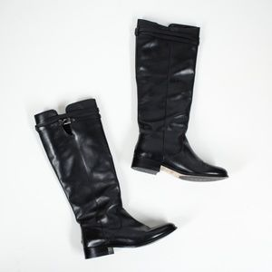 Jimmy Choo Tall Leather Riding Boots Size 10
